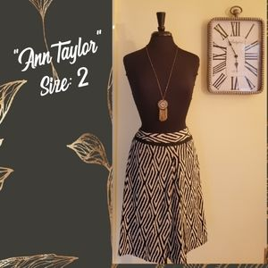 """Ann Tayor"" Midi Skirt"